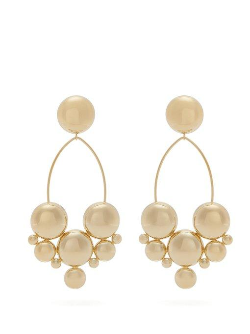 e7d155f2cd Isabel Marant Gold-Plated Bubble-Stud Drop Earrings | ModeSens