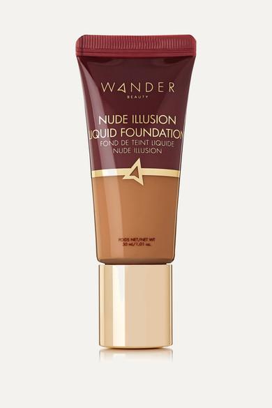 Wander Beauty Nude Illusion Liquid Foundation Golden Tan 1.01 oz/ 30 ml In Neutral