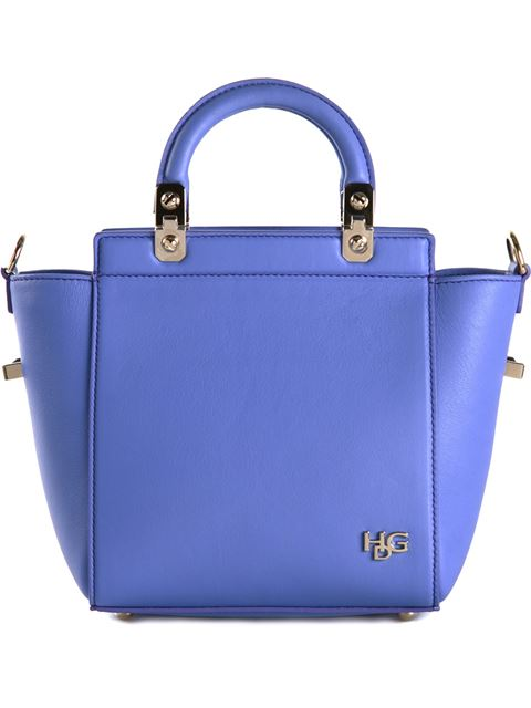 Givenchy Hdg Mini Top Handle In Lilac