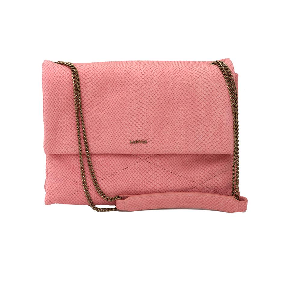 Lanvin Medium Chain Sugar Bag In Pink