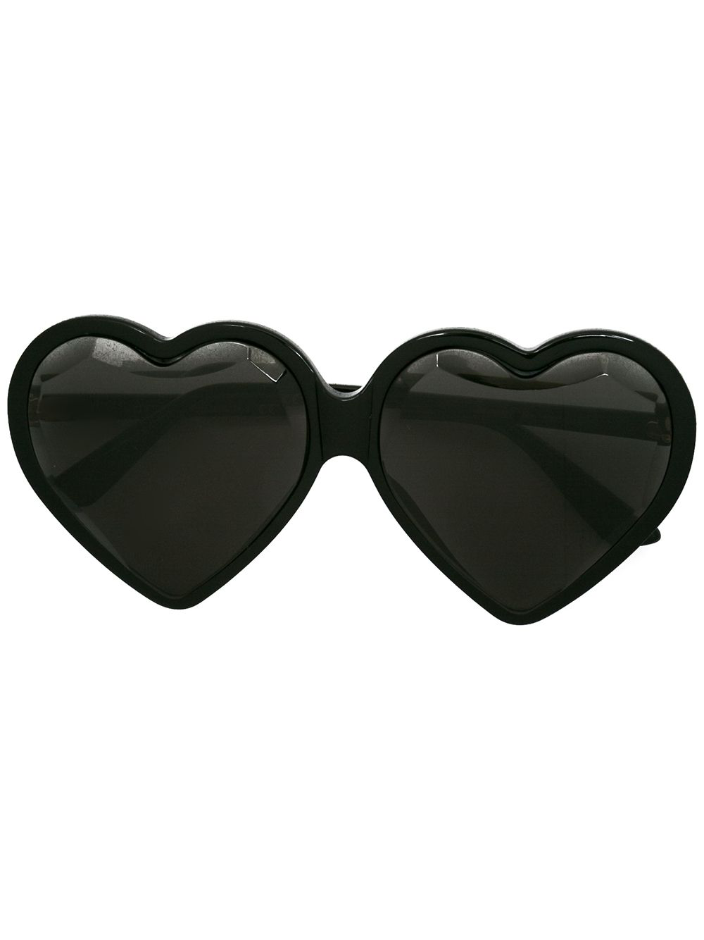 18ecb84be20 Gucci Eyewear Specialized-Fit Heart Frame Sunglasses - Black