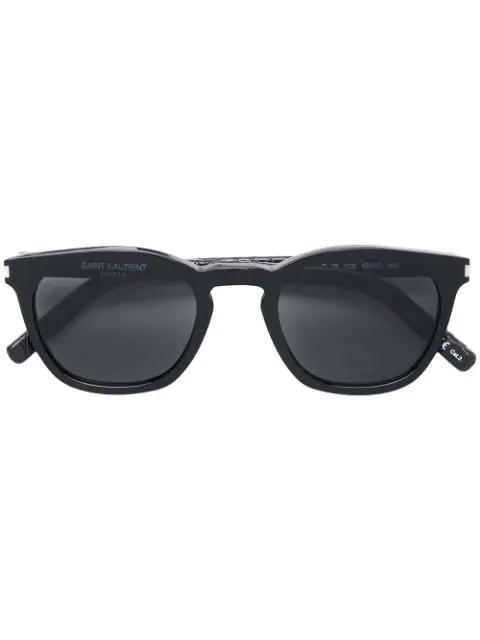 Saint Laurent Eyewear Sl 28 Sunglasses - Black