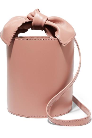 a6fb3c3d4c4 Ulla Johnson Sophie Mini Leather Bucket Bag In Blush