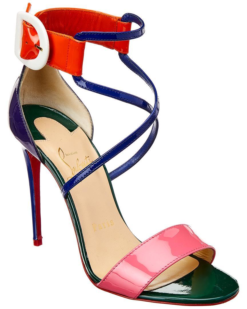 buy popular fad11 890be Choca 100 Patent Sandal in Black