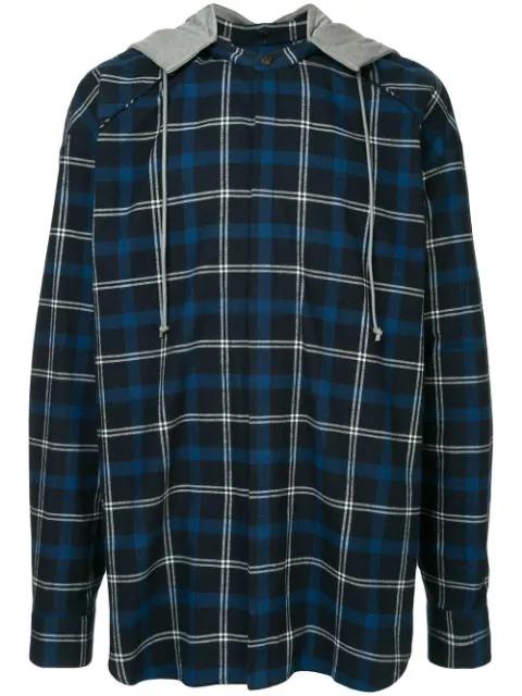 Juun.J Oversized Shirt In Blue
