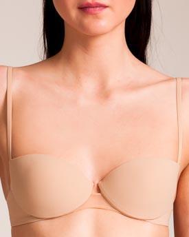 La Perla : Simplicity Balconette Bra In Nude