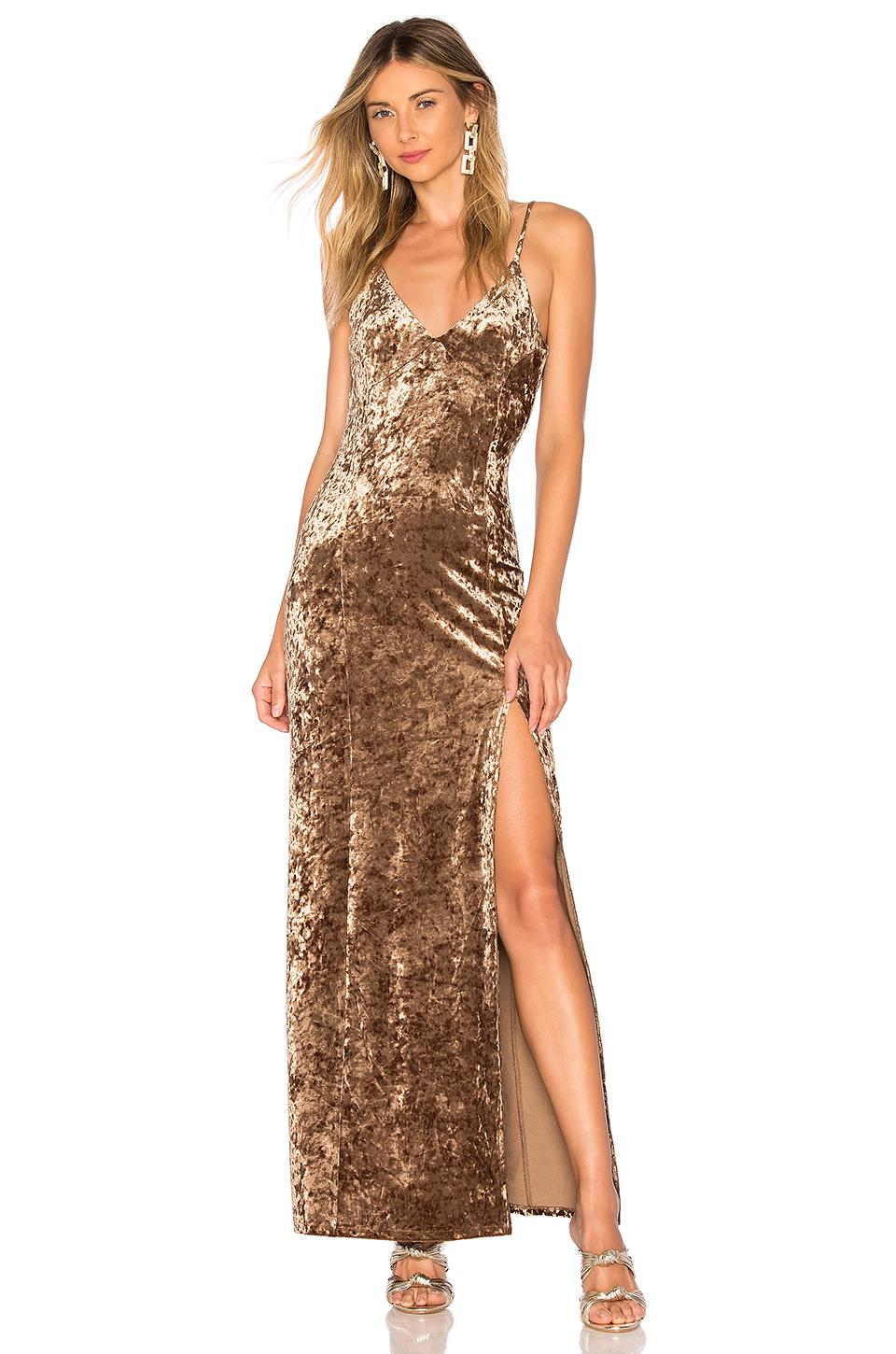 House Of Harlow 1960 X Revolve Shari Dress In Toffee