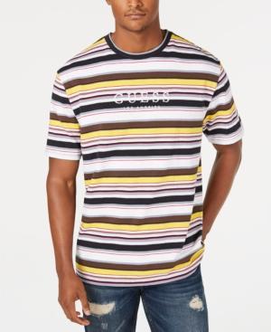 36fce8eda4 Guess Originals Men's Ashton Striped Logo T-Shirt In Ashton Stripe Navy  Multi