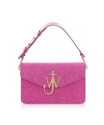 Jw Anderson J.W. Anderson Women's  Fuchsia Leather Handbag In Pink
