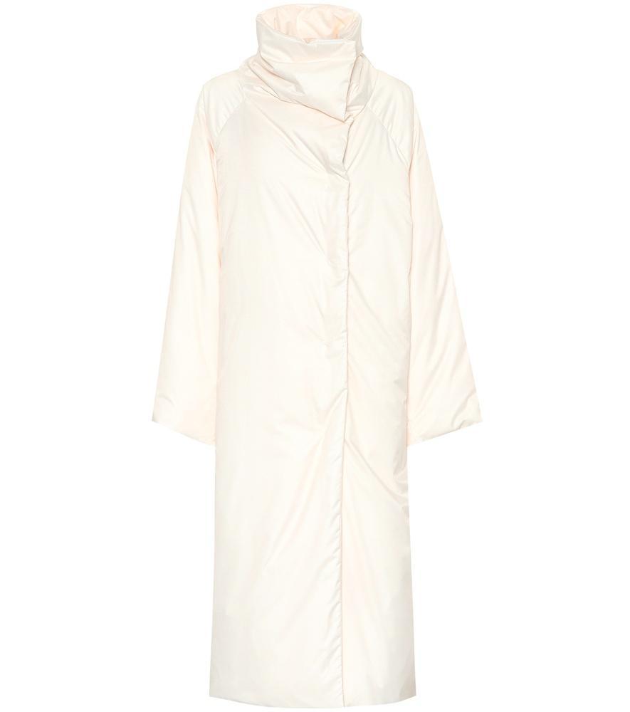 Jil Sander Down Coat In White
