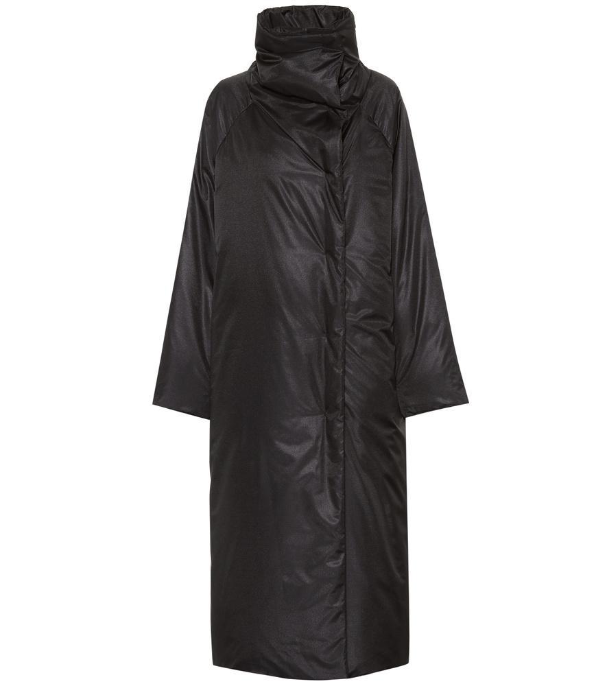 Jil Sander Down Coat In Black