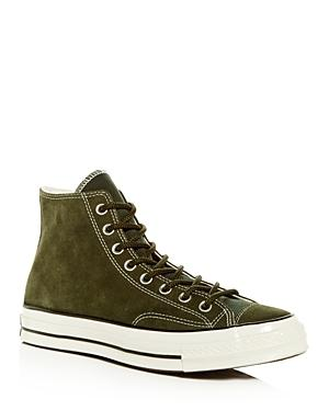 0d9896e15bf42 Converse Men s Chuck Taylor All Star 70 Suede High-Top Sneakers In Natural  Ivory