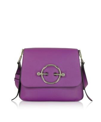 Jw Anderson J.W. Anderson Women's  Purple Leather Shoulder Bag