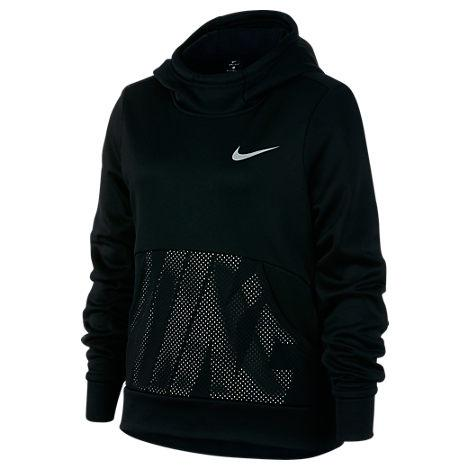 Nike Girls? Therma Training Pullover Hoodie, Blue