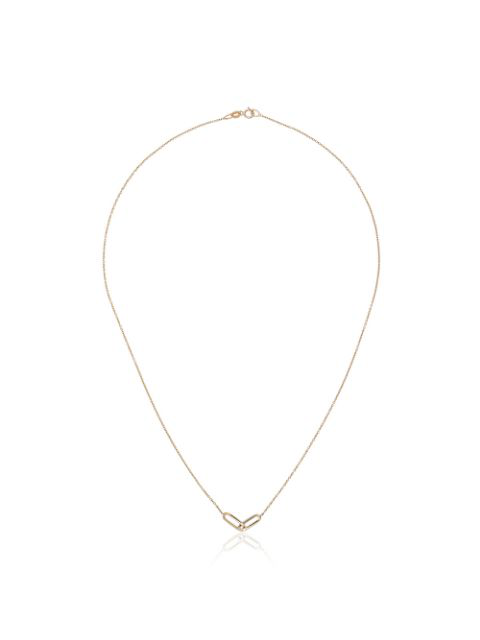 Lizzie Mandler Fine Jewelry Yellow Gold Oval Link Necklace