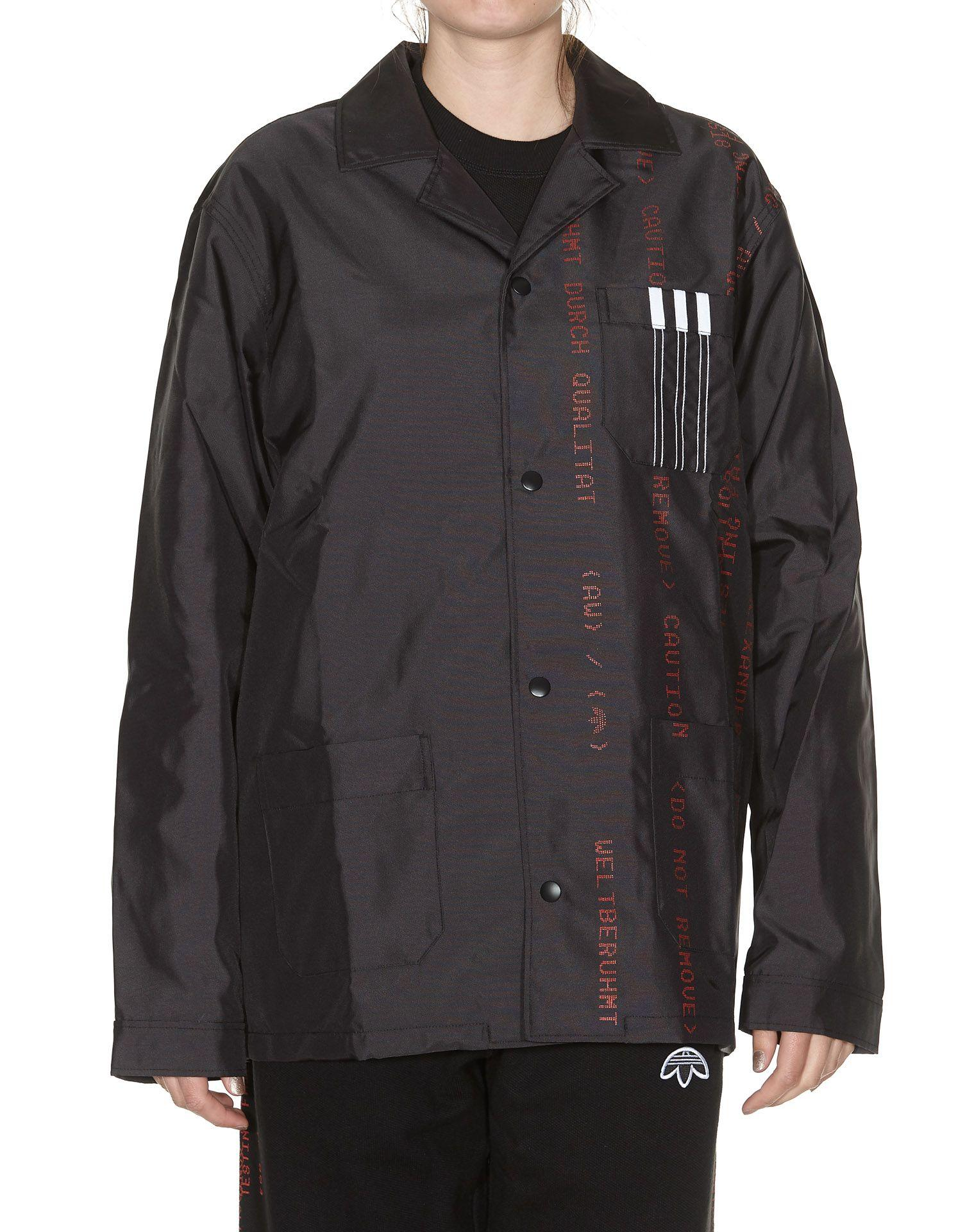 66bcbd7dc2 Adidas Originals By Alexander Wang Coach Jacket In Black