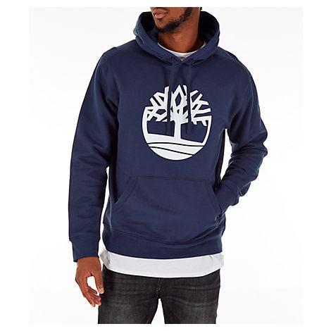 897b0f8d0f Timberland Men?S Big Tree Logo Hoodie, Black | ModeSens