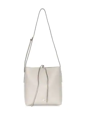 823c2ea74e10 Michael Michael Kors Large Junie Pebbled Leather Messenger Bag In Pearl Grey