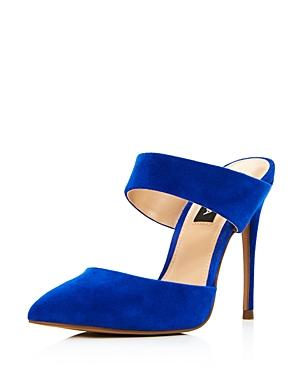 7dbfbbb3c3b1 Aqua Women s Dee Pointed Toe High-Heel Mules - 100% Exclusive In Blue
