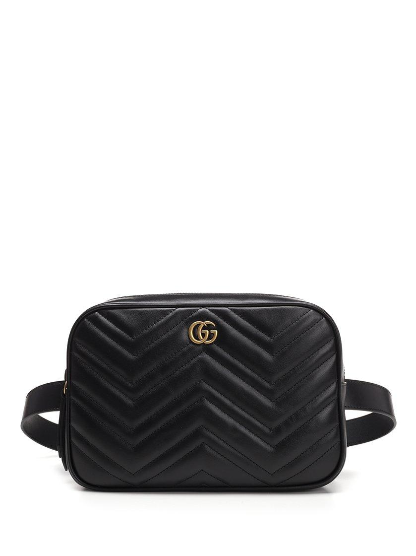 080cf7c32d36 Gucci Gg Marmont 2.0 Belt Bag In Black | ModeSens