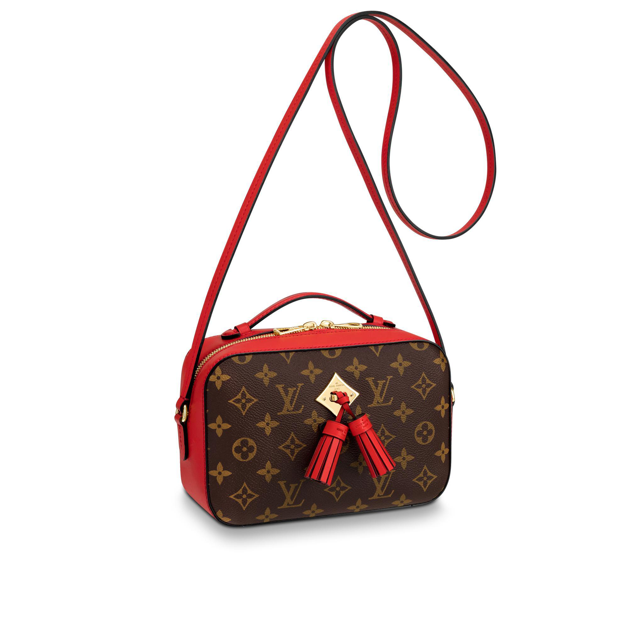 Louis Vuitton Saintonge In Coquelicot