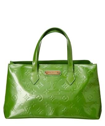 57a70180846b7 Louis Vuitton Green Monogram Vernis Leather Wilshire Pm In Nocolor ...
