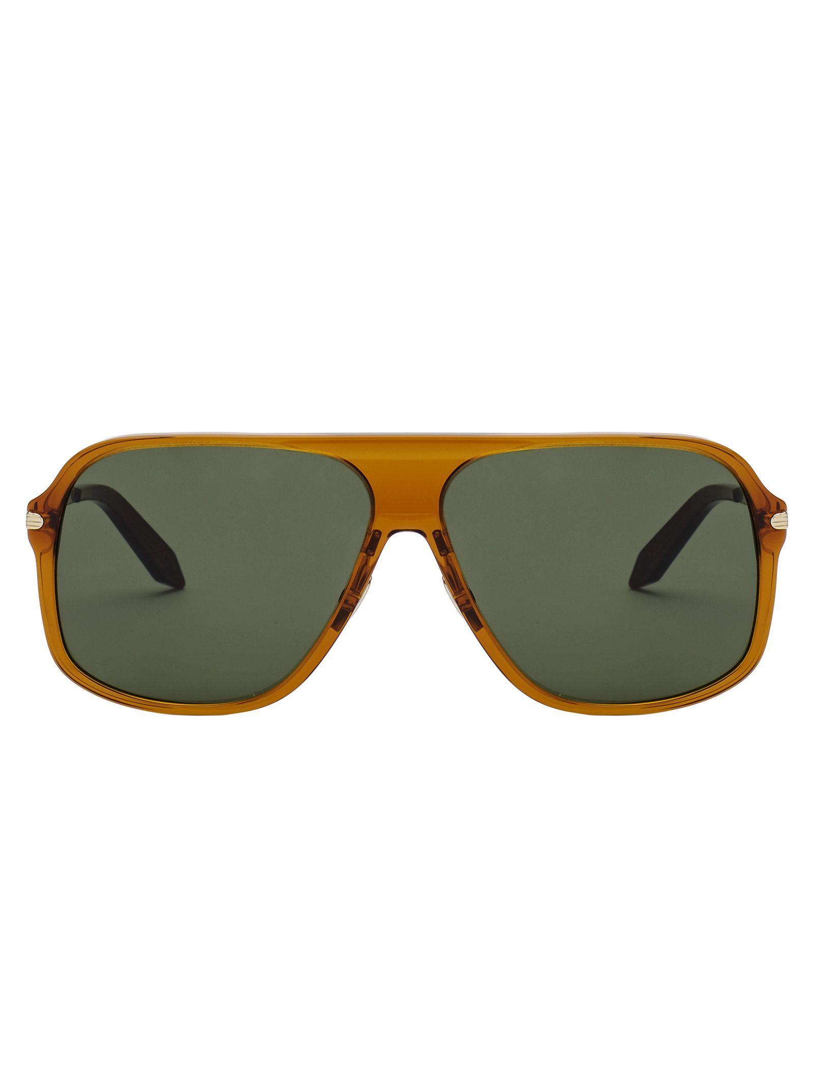 f80056fd28 Victoria Beckham Fine Square Sun Sunglasses In Honey Brown (Vintage Vienna)