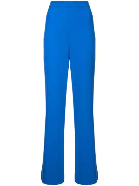Alice And Olivia Alice+Olivia Wide-Leg Trousers - Blue