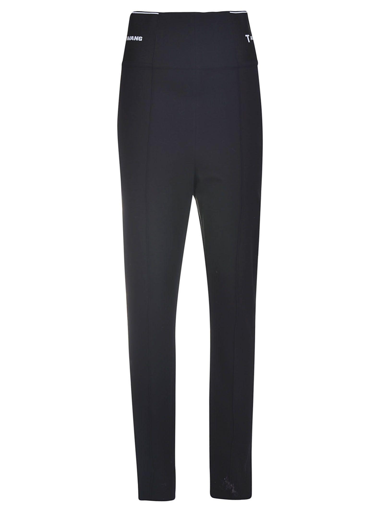 23427f912a3b1 Alexander Wang Logo Elastic Leggings In Black 001 | ModeSens