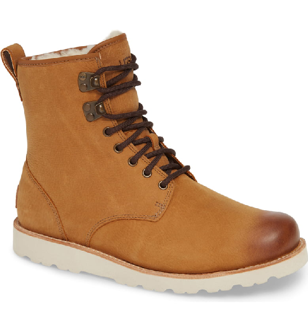 a3a05e2cc70 Men's Hannen Waterproof Boots Men's Shoes in Chestnut