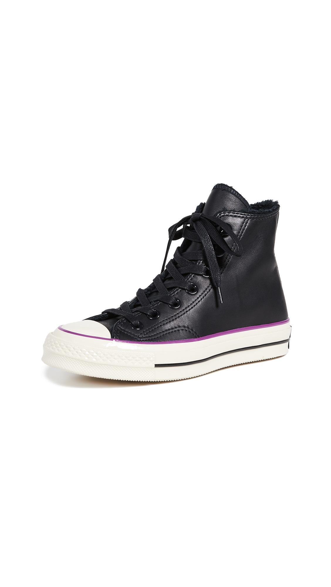 31785686badf Converse Chuck Taylor All Star Ct 70 Street Warmer High Top Sneaker In Black