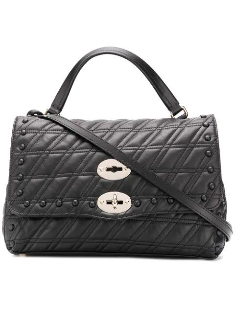 Zanellato Postina Tote Bag In Black