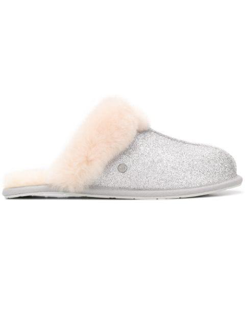 60ec925b05c Scuffette Ii Sparkle Slippers in Silver