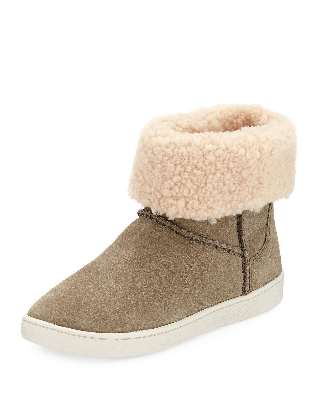 c0de02c52aa Mika Classic Genuine Shearling Sneaker in Antelope