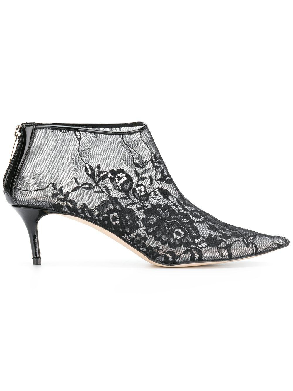 9403d304adf Christopher Kane Plastic Lace Ankle Boot - Black
