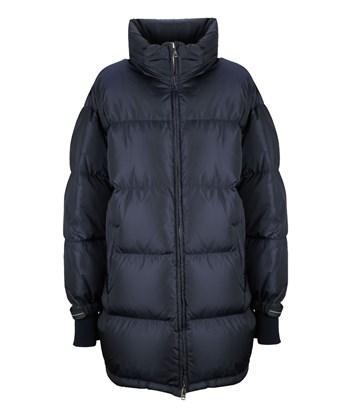 12e315f6d1 Prada Linea Rossa Women's Blue Polyamide Down Jacket   ModeSens