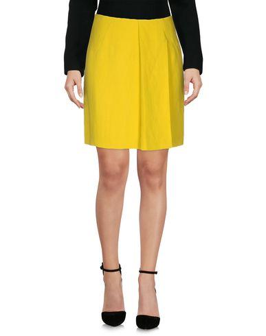Cedric Charlier Knee Length Skirt In Yellow