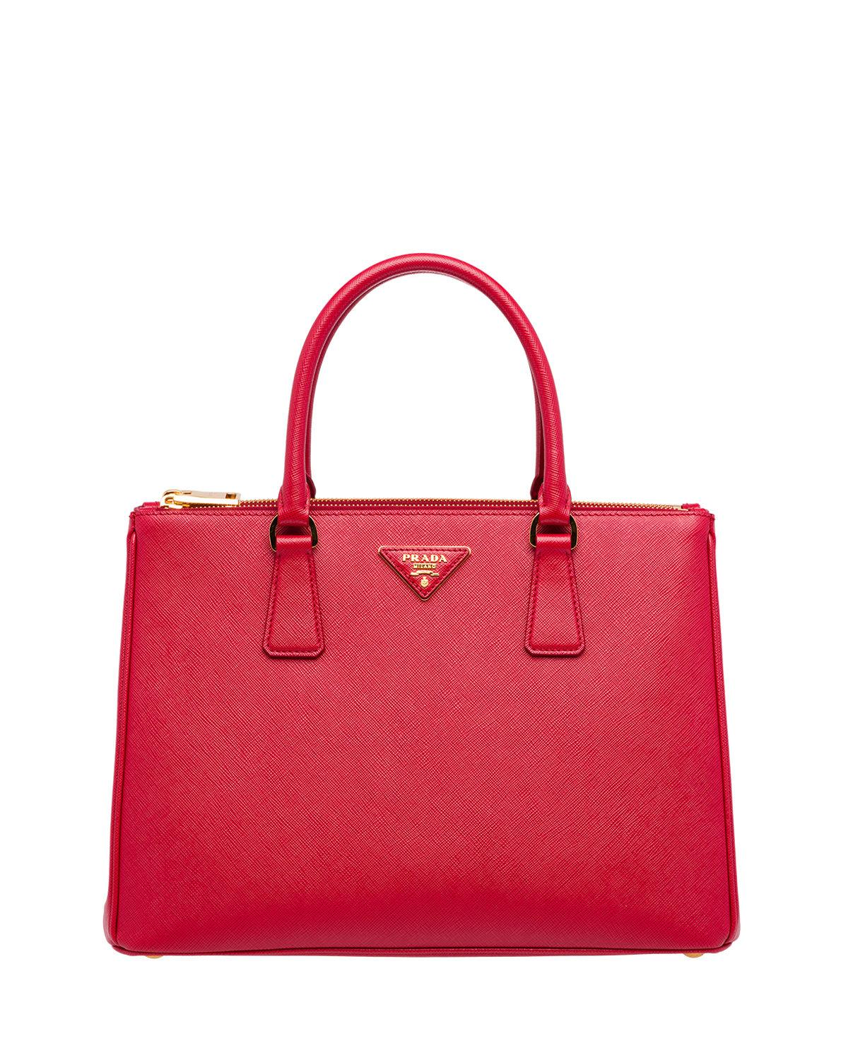df0b2790b8b5 Prada Galleria Medium Saffiano Tote Bag In Red