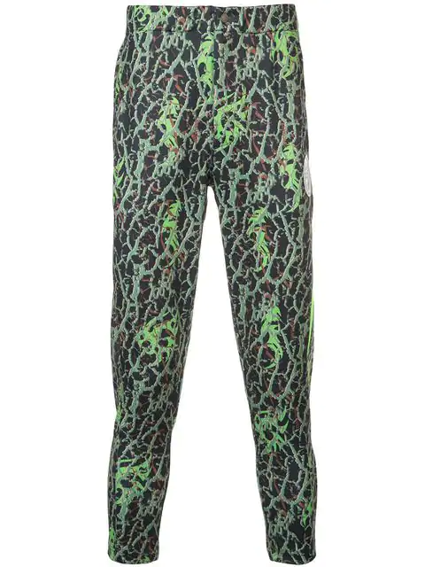 Sankuanz All-Over Print Leggings - Green