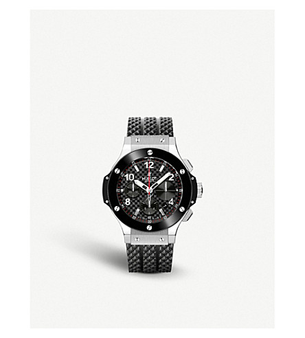Hublot 341.sb.131.rx Big Bang Stainless Steel Watch In Silver