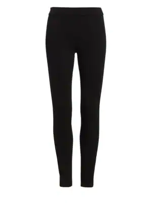 Theory Shawn Ponte Leggings In Black