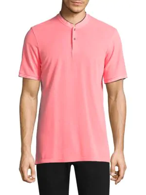 e2b6b24cd58 The Kooples Pink Henley Shirt | ModeSens