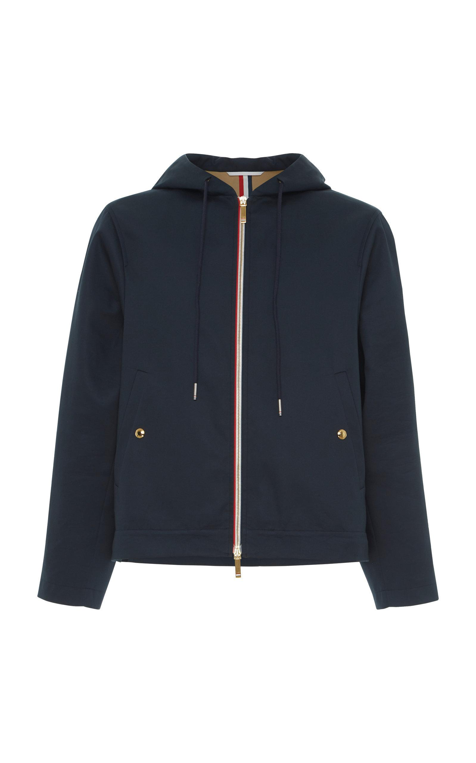 af0b64e67af Thom Browne Mackintosh Swim Parka In Navy. Moda Operandi