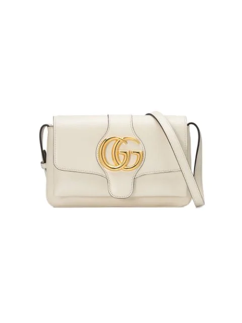 Gucci Small Convertible Shoulder Bag In 9022 White