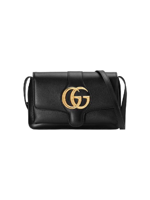 c59f5d7bfc28 Gucci Small Arli Convertible Shoulder Bag - Black