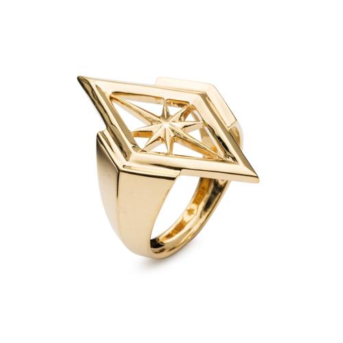 Rachel Jackson London Nova Star Ring In Gold