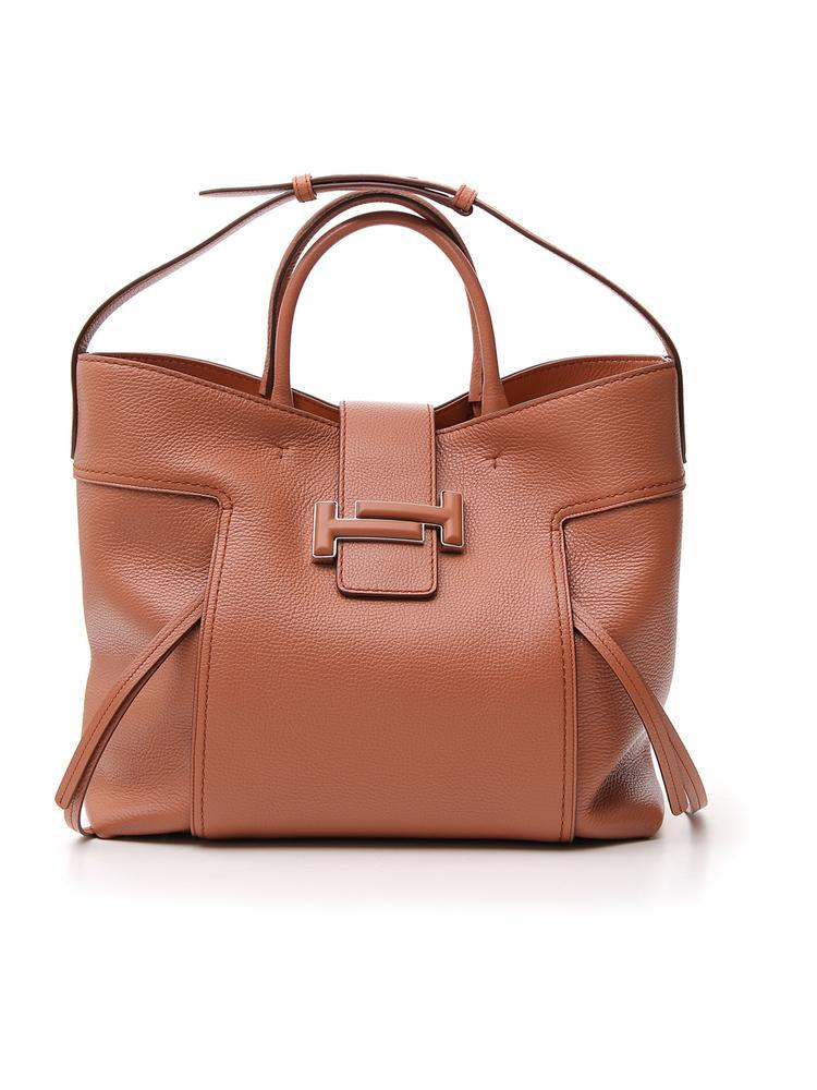 418561c19f Tod's Double T Tote Bag In Brown | ModeSens