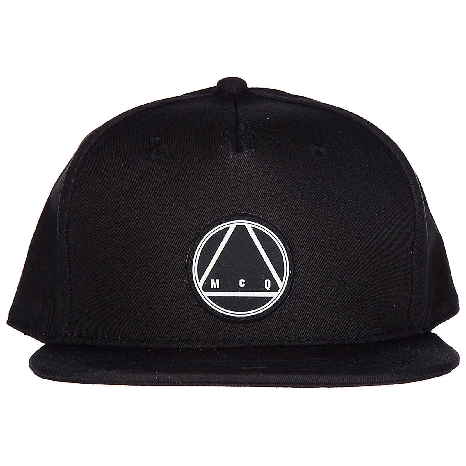 Mcq By Alexander Mcqueen Mcq Alexander Mcqueen Logo Patch Cap In Black