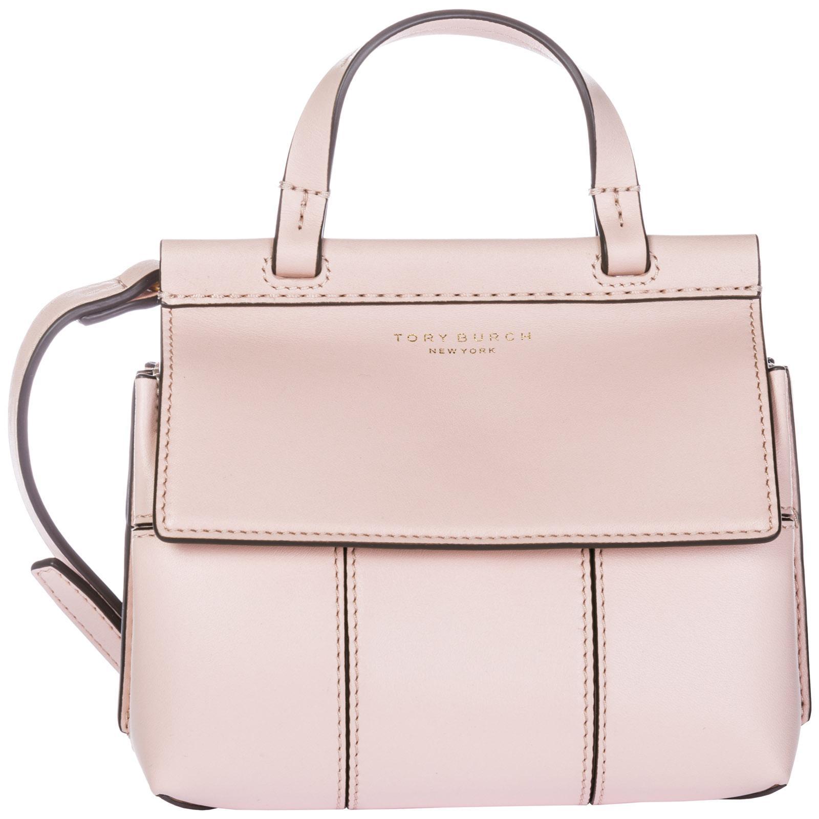 42fcc2e93a4 Tory Burch Women's Handbag Cross-Body Messenger Bag Purse Mini Satchel In  Pink