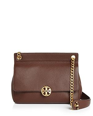 167e921345a3 Tory Burch Chelsea Flap Convertible Leather Shoulder Bag In Buffalo ...